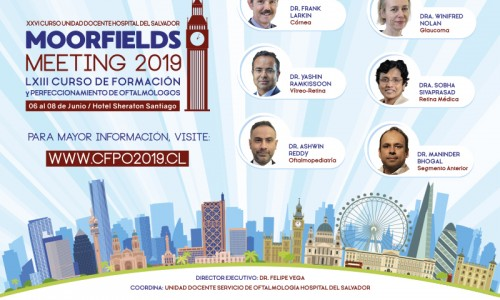 6 7 y 8 de Junio Moorfields Meeting y Ceremonia Inaugural CFPO